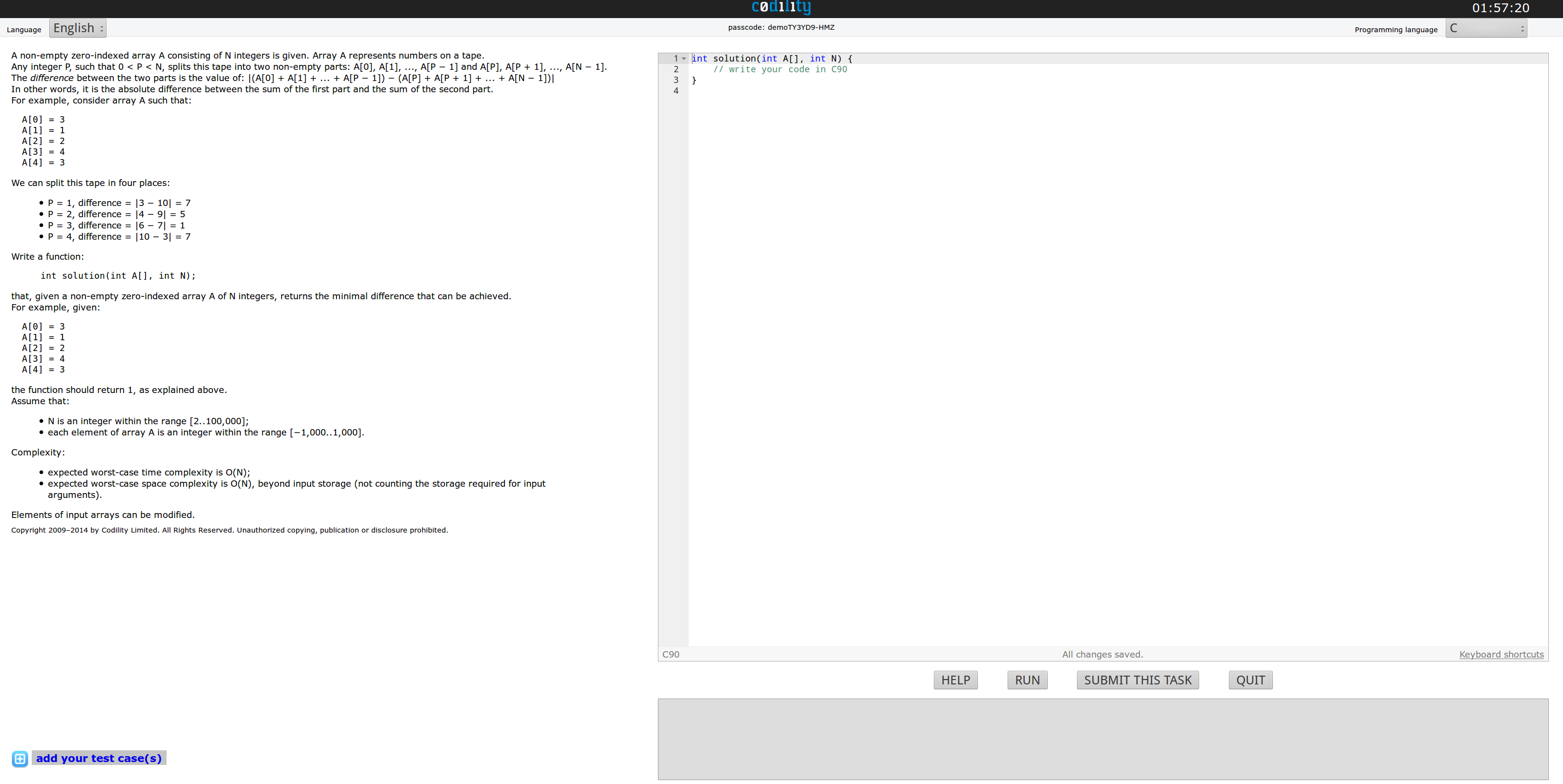 codility-screenshot
